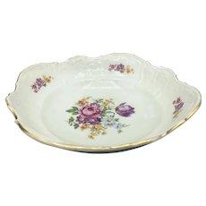 """Bernadotte Floral-Czech Sonata Square Vegetable Serving Bowl, 9"""""""