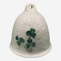 Porcelain Handcrafted Bell by Belleek of Ireland First Edition 1980/1992