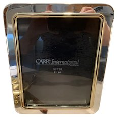 Carr International Silver Plated Photograph Frame 10 x 8 Inches