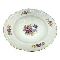 "Vintage Bernadotte Porcelain ""Sonata"" Soup Bowls"