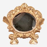 Antique Carved and Gilt Framed Mirror