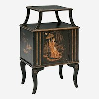 Vintage Chinoiserie Decorated Side Table Retail Price $2450