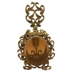 Antique Large Jeweled Perfume Scent Bottle