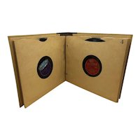 Vintage Record Book Full of 78 rpms of Jazz/Latino Music