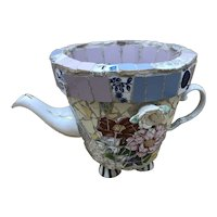 Mosaic Tile Flower Planter / Watering Can