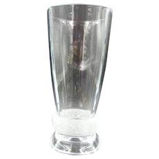 "J.D. Durand 12"" Crystal Vase in Original Box - Never Used"
