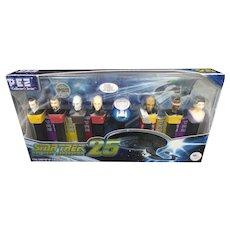Pez Candy Dispenser Star Trek Next Generation 25 Collector's W/ Exclusive - NIB