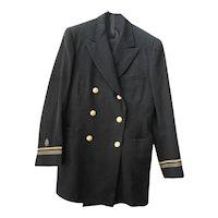 WWII NAVY Officer's Dress Blue Uniform, Medical Unit