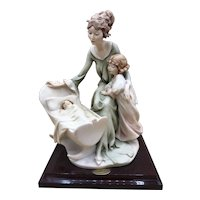 """ROCK-A-BYE"" 1990 Armani Sculpture - Florence - 0753-P - Mint Condition"