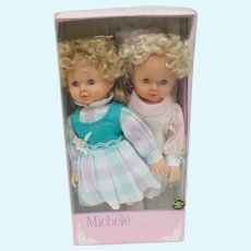 Vintage Michele Dolls - New in Box