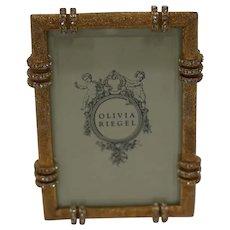 "Olivia Riegel Gold Cassini 5"" X 7"" Picture Frame"