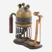 Codman & Shurtleff Medical Steam Atomizer & Case, Patentedd 1869