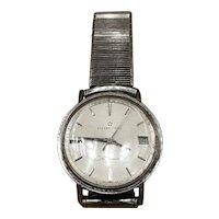 "Eterna Matic Centenaire ""61"" Brevete 1438U Automatic Stainless Date Watch"