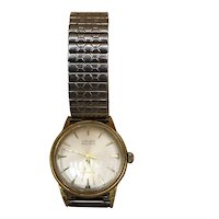 Rare Vintage Gruen Autowind Gold-filled men's watch 34mm works and keeps time