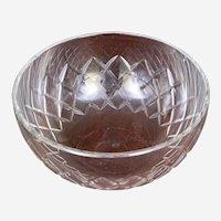 Large Baccarat Crystal Bowl