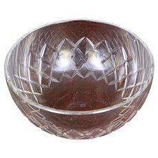 Large Baccarat Crystal Bowl