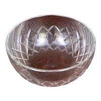 Large Ornate Baccarat Crystal Bowl