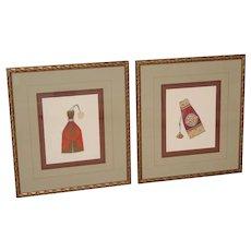 2 Soicher Marin Studios Beaded Pouch Framed Prints