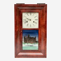 Antique 19th Century Brewster & Co. 30 Hour Shelf Clock