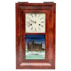 Antique 19th Century Brewster & Co. 30 Hour Shelf Clock