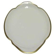 Antique 1903 Theodore Haviland Oval Porcelain Platter (in Breton Pattern), Made in Limoges, France