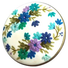 Colorful handmade Brooch flowers