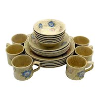 Fitz and Floyd French Country Provence Service for 6 Dinnerware