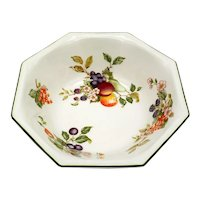 Johnson Bros Fresh Fruit Octagon Serving Bowl