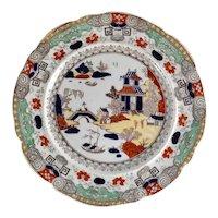 1825 Mason's Ironstone Stapled Plate