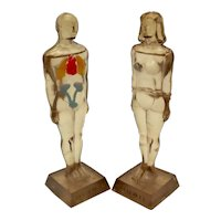 Diuril Merck Anatomical Figures Medical Advertising