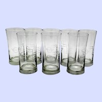 Plimsoll Lines and Ship Hull Markings Cocktail Glasses