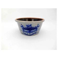 Salmon Falls Pottery 1991 Blueberry Basket Baker