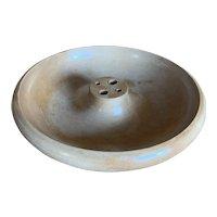 Mid-Century Modern Blonde Wood Nut Bowl