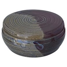 Two-toned Ceramic Pottery Dish with Lid