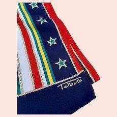 Silk Talbot's Vintage Nautical Scarf