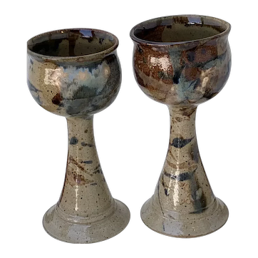 Mangum Pottery Goblets