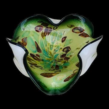 Mid-century Modern Murano Glass Bowl