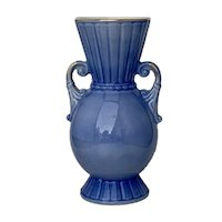 Beautiful Blue Royal Copley Vase