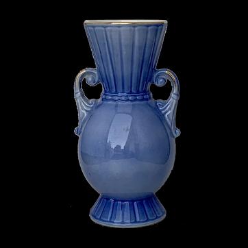 Beautiful Blue Royal Copley Vase