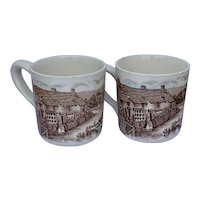 Johnson Brothers Old English Countryside Mugs