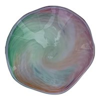 Murano Multi-colored Pastel Bowl