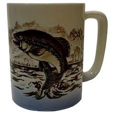 Vintage Otagiri Fish in Water Mug