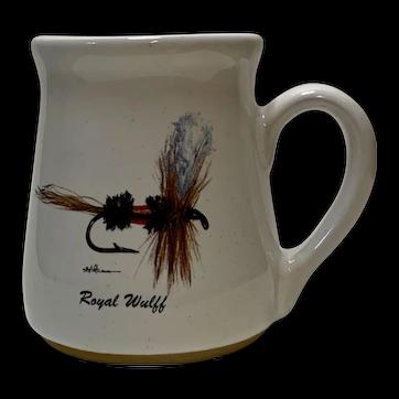 Royal Wulff Fly Fishing Coffee Mug 1991 Anglers Expressions