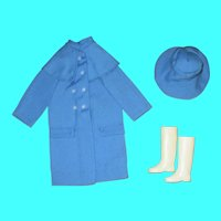 Japanese Exclusive FRANCIE Blue Raincoat Set