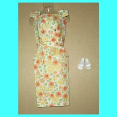 Japanese Exclusive Barbie On The Go Floral Sheath Variation