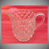 Vintage Crystal Glass Fostoria American ½ Gallon Jug 1915-86 Mint