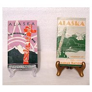 Vintage Collectible Canadian National Steamship Cruise From Vancouver, B. C. to Skagway, Alaska Trip Brochure & Passenger List August 15,1938