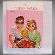Vintage Collectible Dick & Jane The New Guess Who Teachers Edition 1962 Excellent Condition