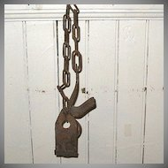 20% OFF Vintage Collectible Primitive Iron Cow Kicker Restraining Device 1920-60s Great Vintage Condition