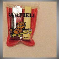 Vintage Collectible Garfield Miniature Stapler With Staples & Case Creations by Dakin 1978 Excellent Condition